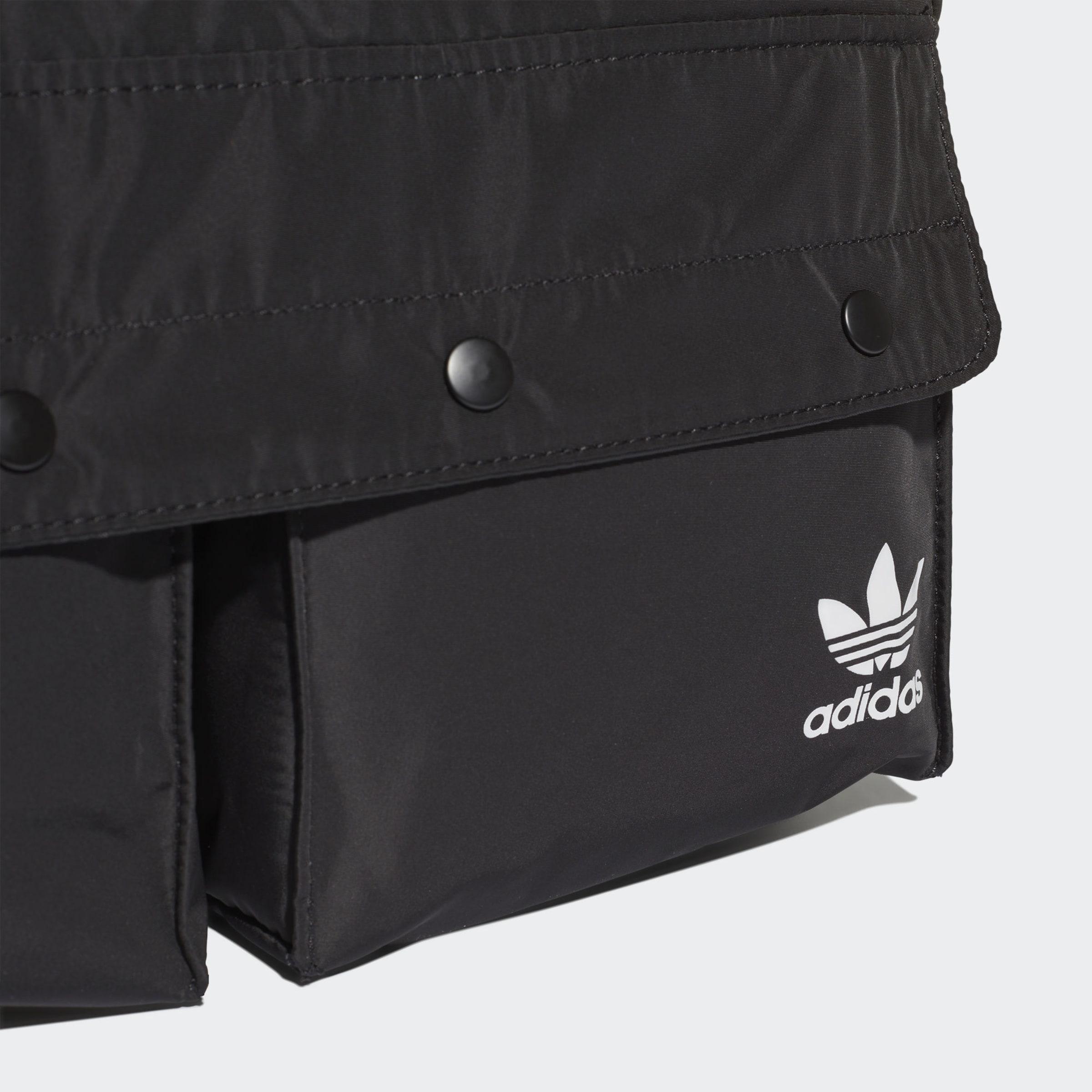 In Adidas Originals Bauchtasche 'funny' SchwarzWeiß 3A45RjL