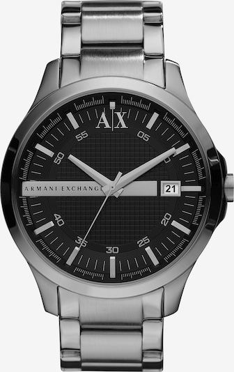 ARMANI EXCHANGE Quarzuhr »AX2103« in silber: Frontalansicht