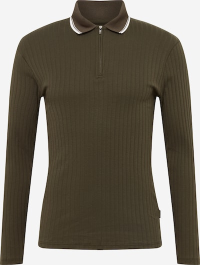 BURTON MENSWEAR LONDON Lonsleeve in khaki, Produktansicht