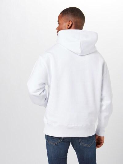 Tommy Jeans Sweat-shirt en blanc: Vue de dos