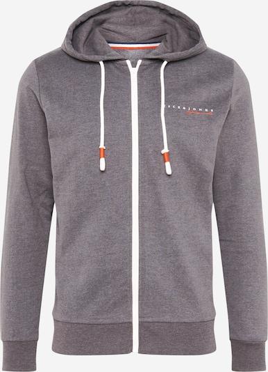 JACK & JONES Sweater majica 'CLAYTON' u tamo siva, Pregled proizvoda