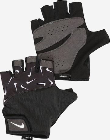 NIKE Accessoires Sports gloves 'Elemental' in Black