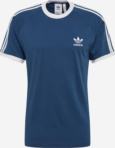 ADIDAS ORIGINALS 3-Streifen Tee Adicolor Sportmode T-Shirt in blau / weiß, Produktansicht