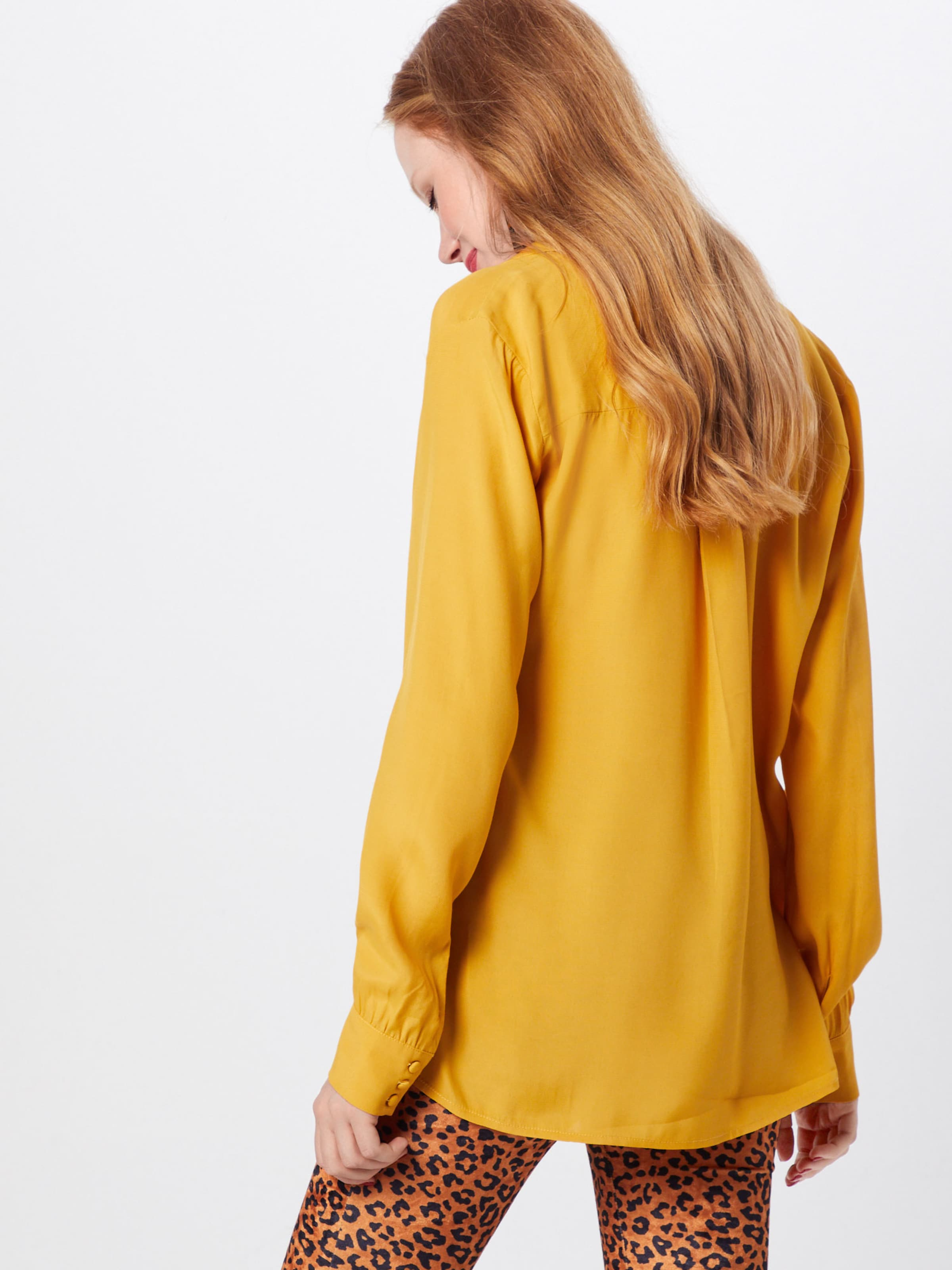 Chemisier Jaune En 'ryder Modström Shirt' rxWodBeC
