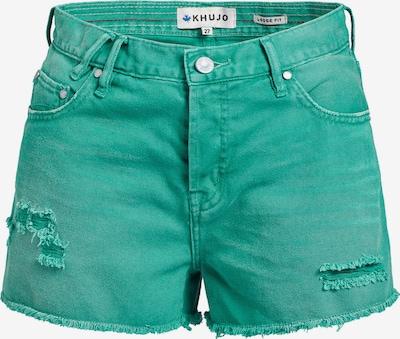 khujo Jeans 'Ulina' in de kleur Limoen, Productweergave
