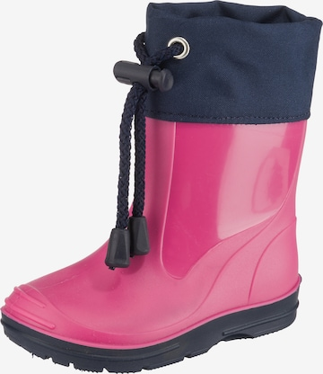 BECK Rubber boot in Pink