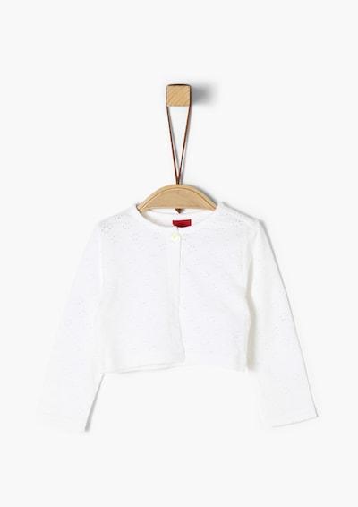 s.Oliver Bolero-Jacke in weiß, Produktansicht