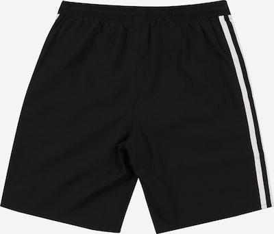 ADIDAS PERFORMANCE Badeshorts in schwarz / weiß: Rückansicht