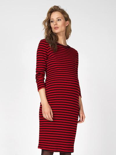 Supermom Robes en maille en rouge / noir: Vue de face