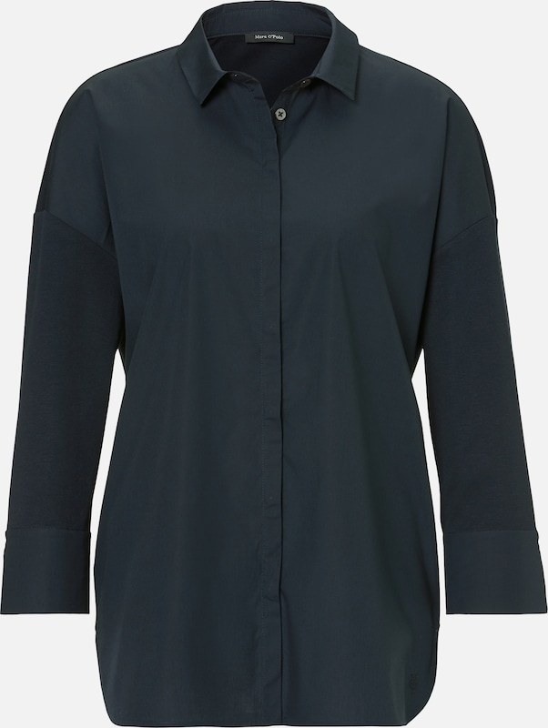 Marc O'Polo Bluse in marine, Produktansicht