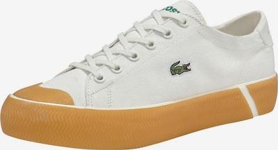 LACOSTE Sneaker 'Gripshot 120 6 CFA' in orange / offwhite: Frontalansicht