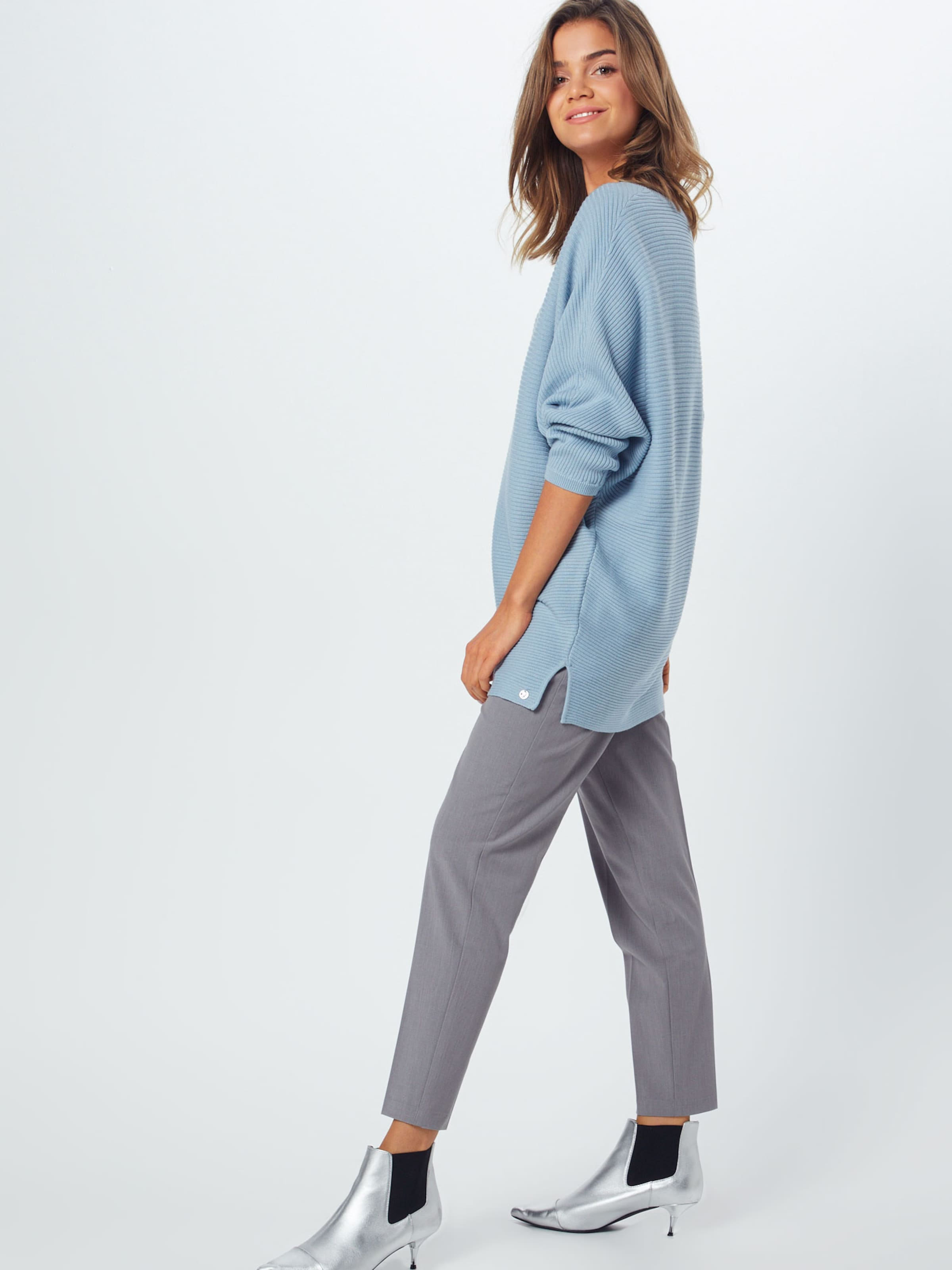 Denim Blue In Tom Tailor Smoky 'ottoman' Trui yO8nvmPwN0
