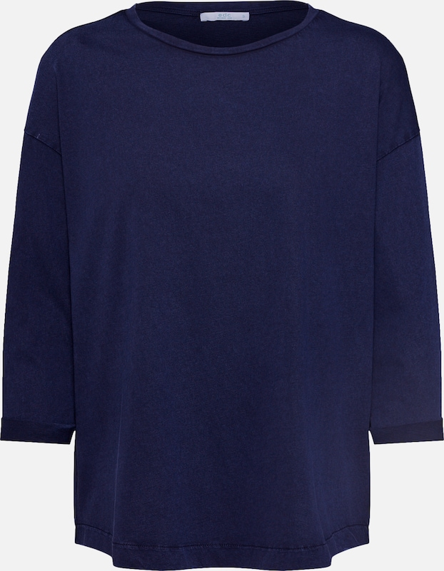 EDC BY ESPRIT Shirt 'NOOS CORE OCS' in de kleur Navy, Productweergave
