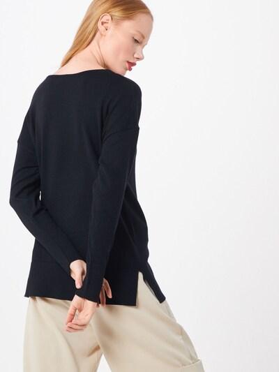 ICHI Pullover 'KAVA' in schwarz: Rückansicht