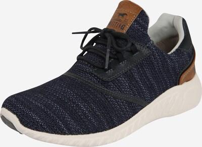 MUSTANG Schuhe 'Kinder Schnürhalbschuh' in navy / braun, Produktansicht