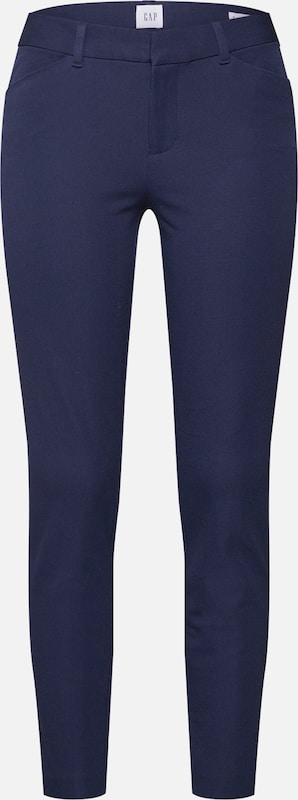 GAP Nohavice 'V-SKINNY ANKLE BISTRETCH' - indigo, Produkt