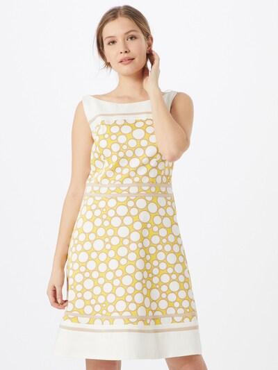 s.Oliver BLACK LABEL Kleid in nude / gelb / weiß, Modelansicht