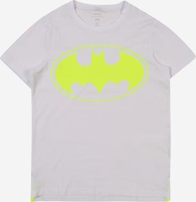 NAME IT Shirt 'NKMBATMAN KRISTOFFER SS TOP WAB' in weiß, Produktansicht