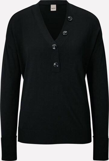 heine Pullover in schwarz: Frontalansicht