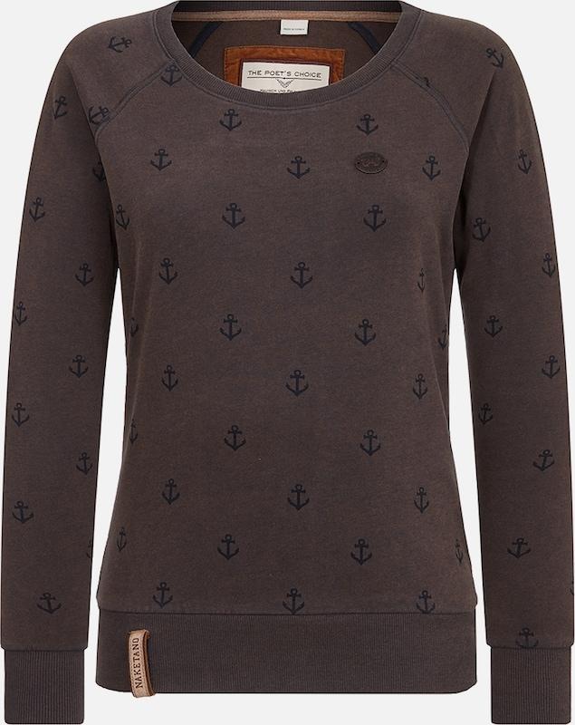 Naketano Sweatshirt in in in nachtblau   dunkelbraun  Bequem und günstig bcb753
