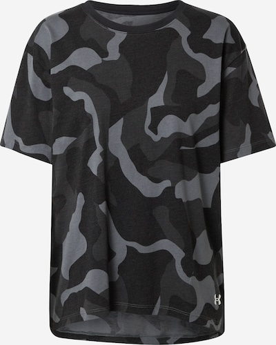 UNDER ARMOUR Functioneel shirt 'Denali' in de kleur Grijs / Zwart, Productweergave