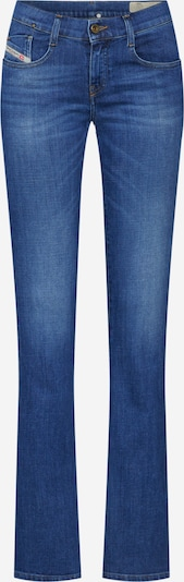 DIESEL Jeans 'D-EBBEY' in blue denim: Frontalansicht