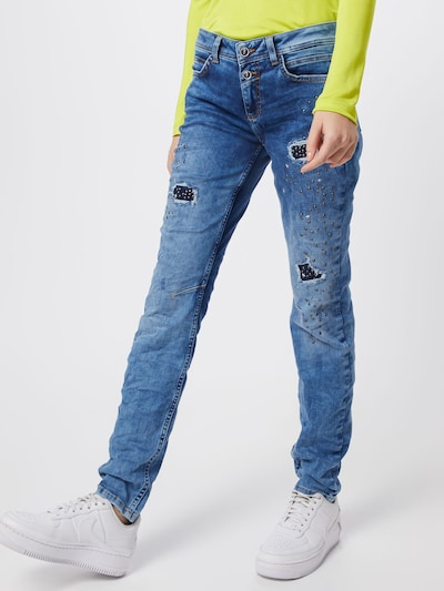 STREET ONE Jeans 'Jane' in blue denim, Modelansicht