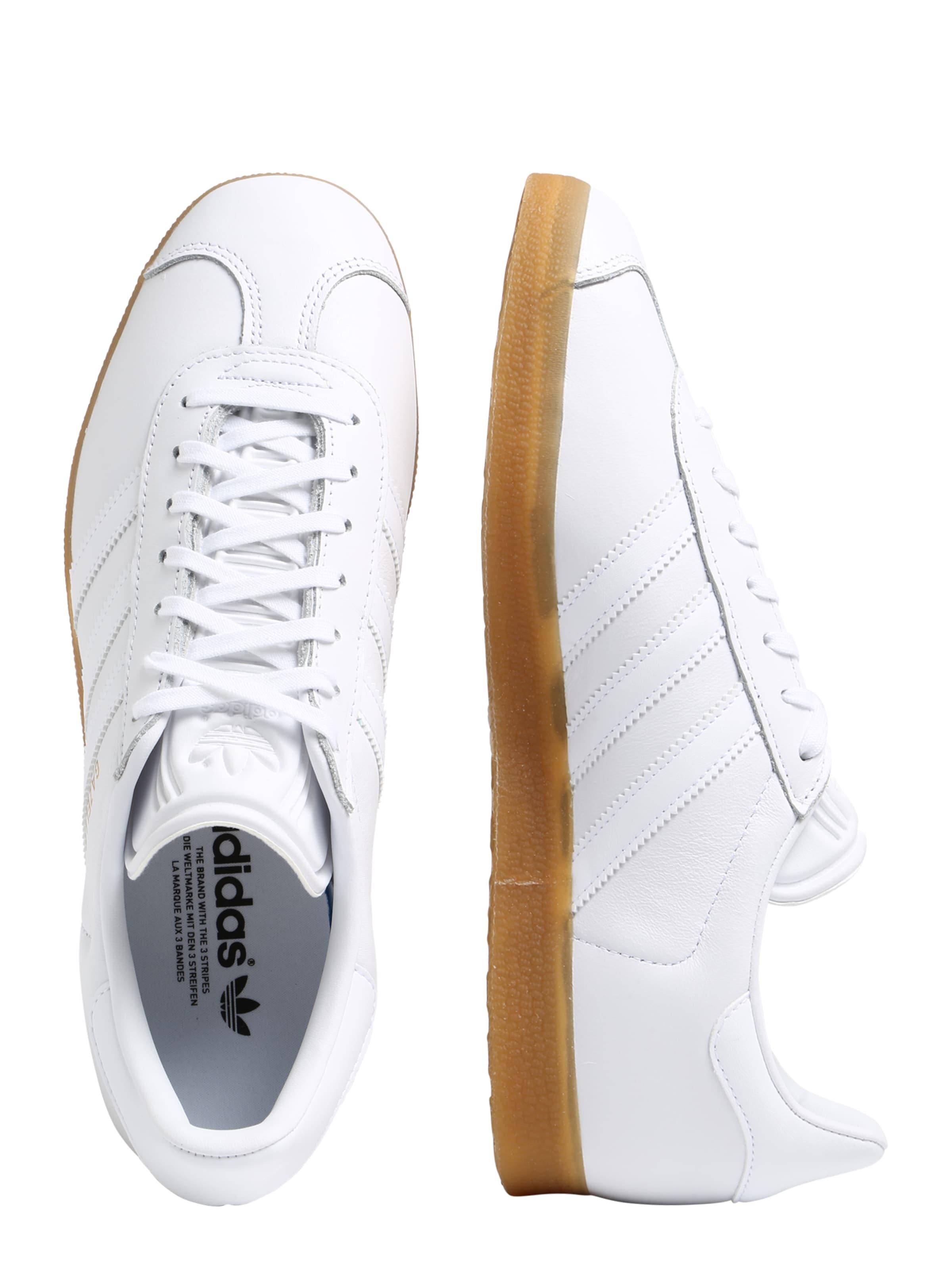 Adidas Originals Weiß 'gazelle' In Sneaker 4Rc3ASjL5q