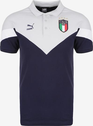 PUMA Shirt 'FIGC Italien Iconic MCS EM 2020' in nachtblau / hellgrau / weiß, Produktansicht