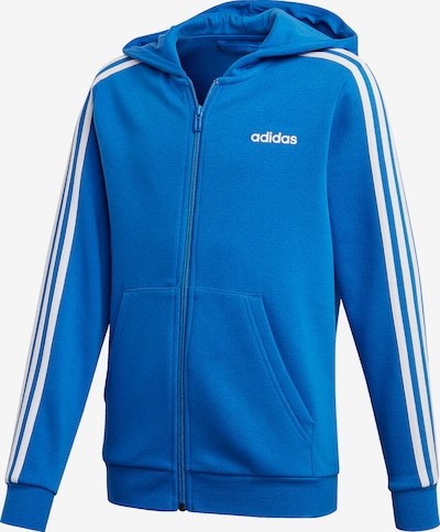 ADIDAS PERFORMANCE Sweatjacke 'YB ES FZ HD' in blau, Produktansicht