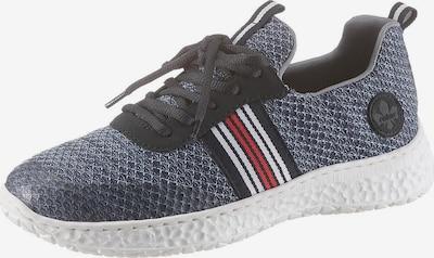 RIEKER Sneakers laag in de kleur Nachtblauw / Rood / Zwart / Wit, Productweergave