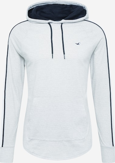 HOLLISTER T-Shirt en bleu nuit / gris clair / blanc, Vue avec produit