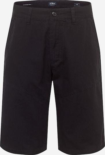 s.Oliver Chino hlače u crna, Pregled proizvoda