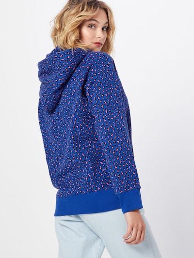 LEVI'S Sweatshirt  'GRAPHIC SPORT HOODIE' in violettblau: Rückansicht