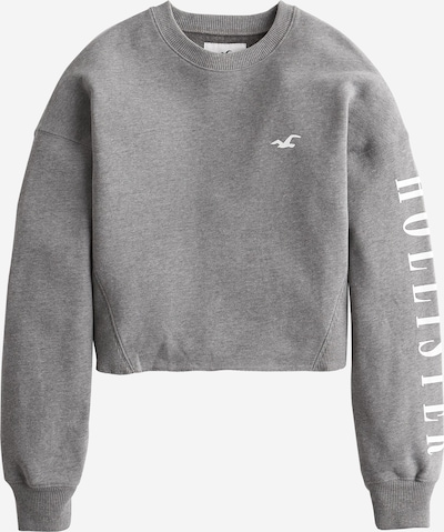 HOLLISTER Sweatshirt in hellgrau, Produktansicht