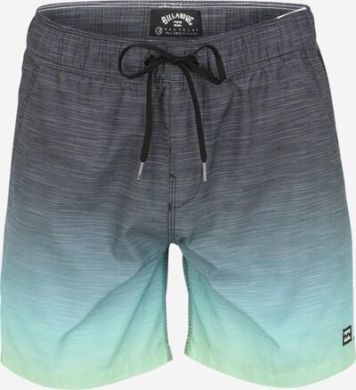 BILLABONG Plavecké šortky 'All Day Faded' - modrá / žlutá / zelená, Produkt