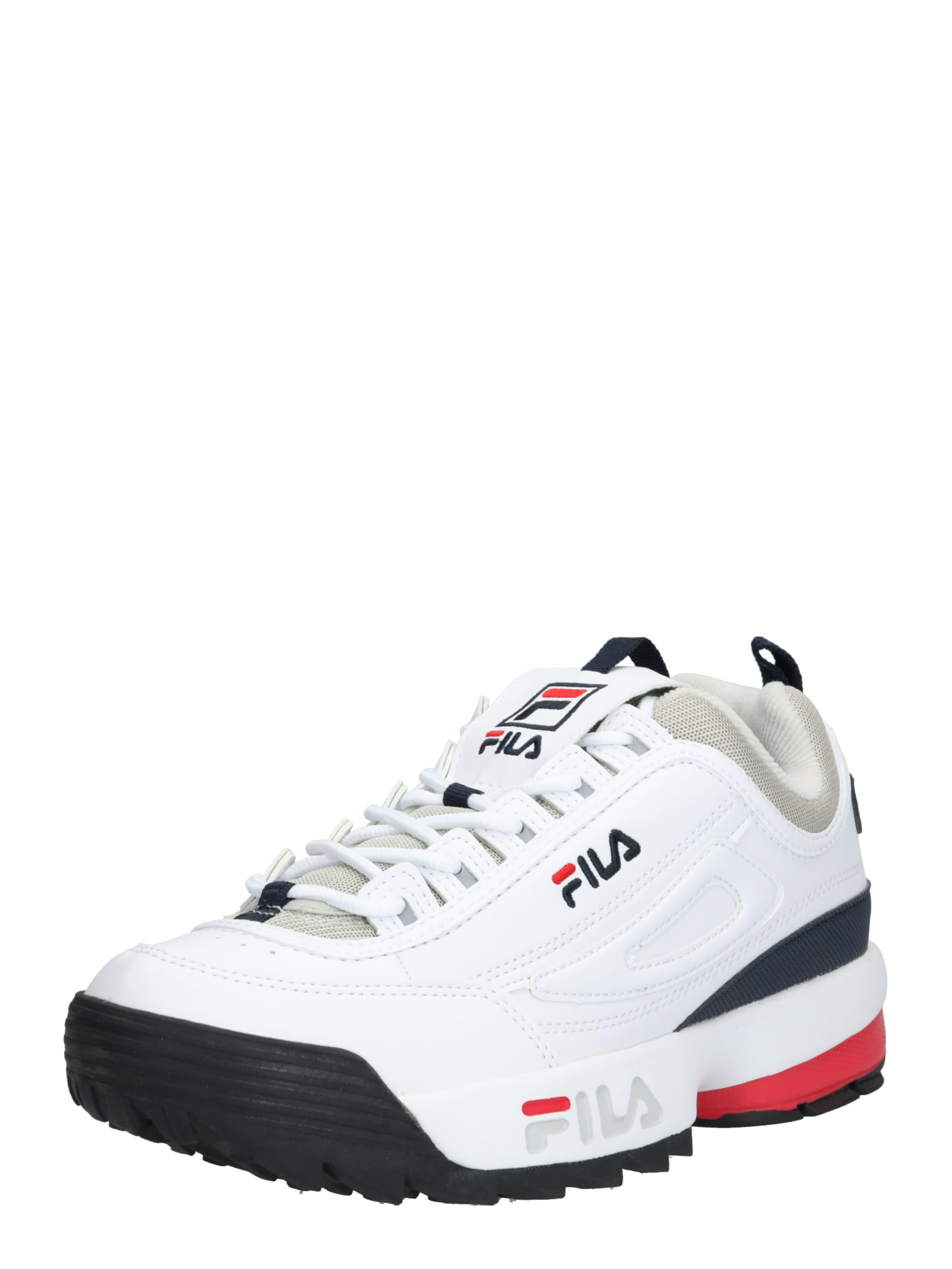 Fila In 'disruptor GrauRot Sneaker Weiß Cb' 9YDHeWEI2