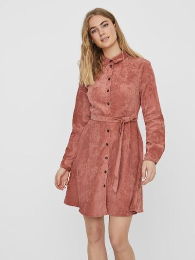 VERO MODA Kleid in rostbraun, Modelansicht