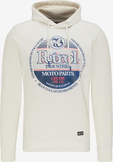 Petrol Industries Sweat-shirt en mélange de couleurs / blanc, Vue avec produit
