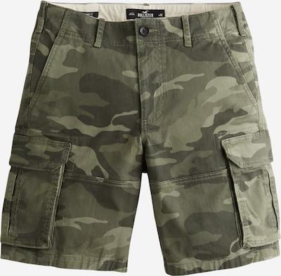 HOLLISTER Shorts in hellgrün / dunkelgrün, Produktansicht