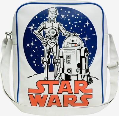 LOGOSHIRT Tasche 'Krieg der Sterne - C-3PO R2-D2' in weiß, Produktansicht