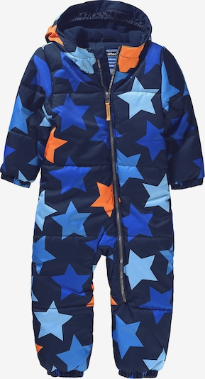 myToys-COLLECTION Schneeanzug 'Starlet' in blau / navy / hellblau / orange, Produktansicht