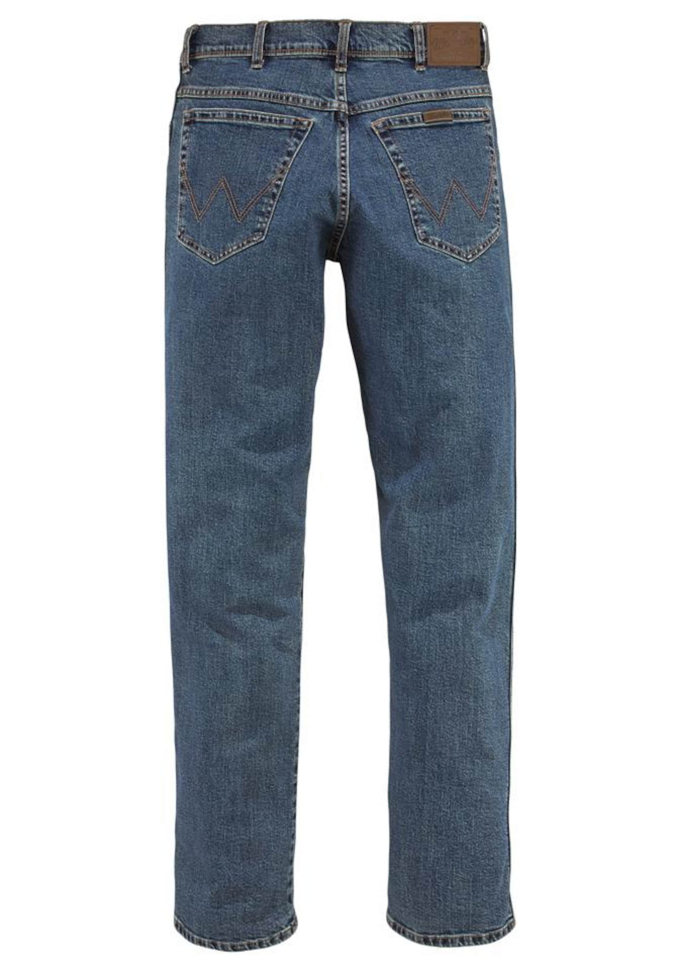 Denim jeans 'durable' Stretch Wrangler In Blue rdxeBoC