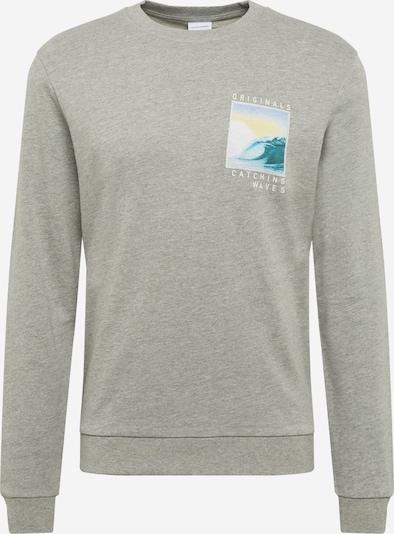 JACK & JONES Sweatshirt 'JORQUIVER' in grau, Produktansicht