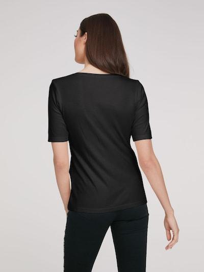 heine Shirt in de kleur Zwart: Achteraanzicht