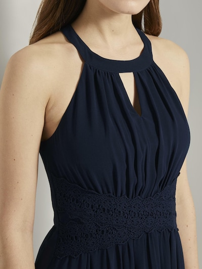 TOM TAILOR DENIM Kleid in blau, Produktansicht