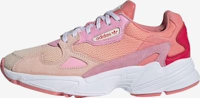 ADIDAS ORIGINALS Sneaker 'Falcon' in helllila / pink / rot, Produktansicht