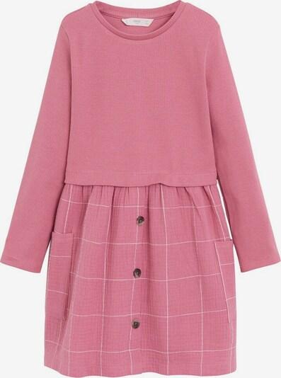 MANGO KIDS Kleid 'Berta6' in rosa / weiß, Produktansicht