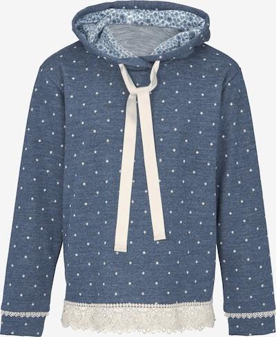 heine Sweatshirt in blau / weiß, Produktansicht