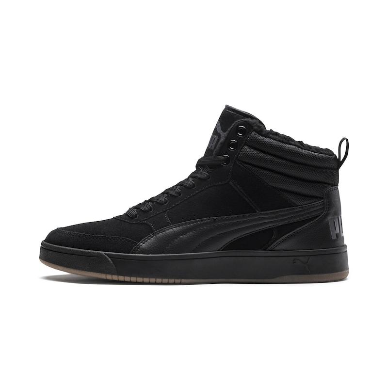 a2dffa59909 PUMA Sneakers hoog 'Rebound Street v2' in Basaltgrijs / Zwart | ABOUT YOU